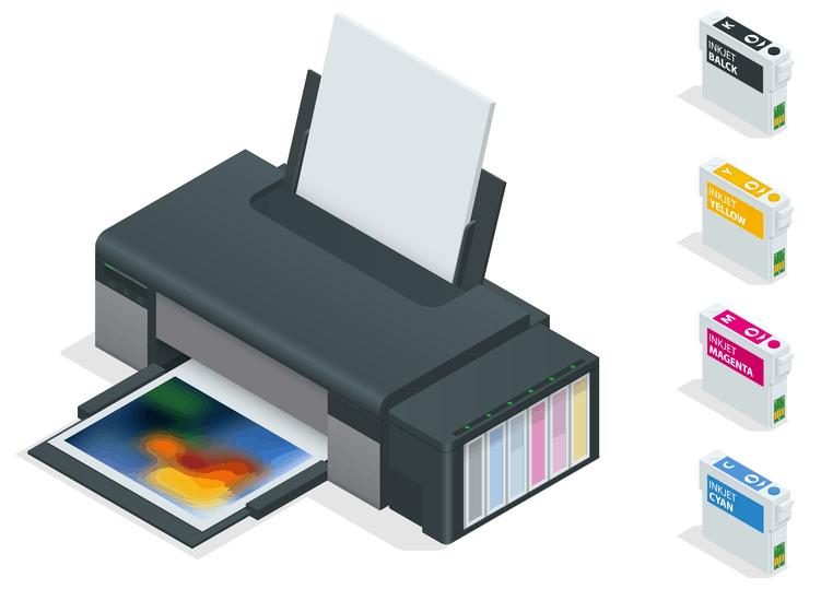 Print quality aspects of inkjet printers