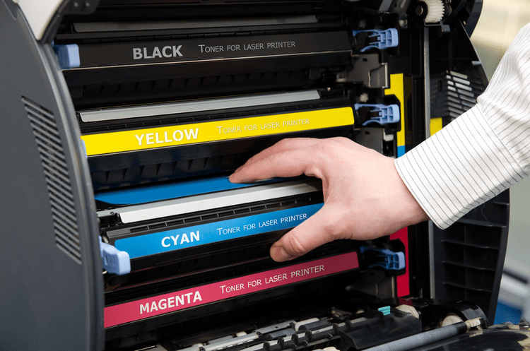 Print quality aspects of laser printers