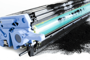 Troubleshooting laser printer streaks, smudges, and smears from toner spills