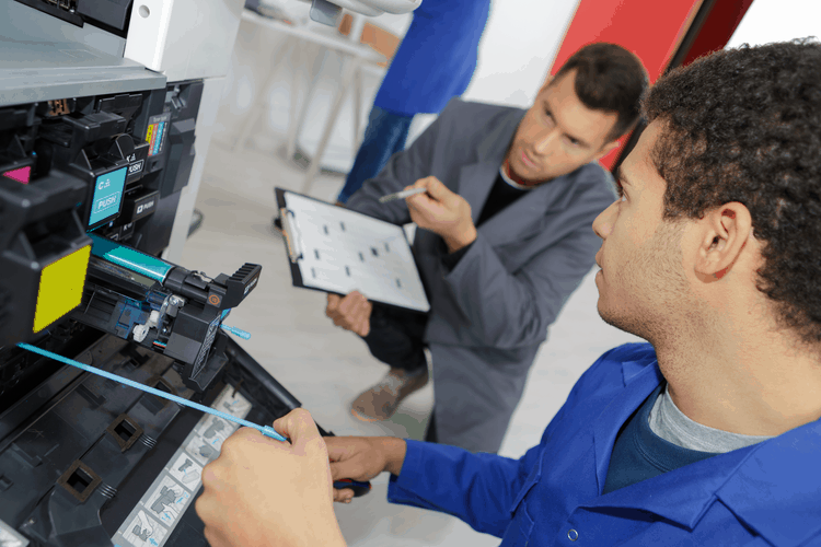 Printer Coach Onsite Training