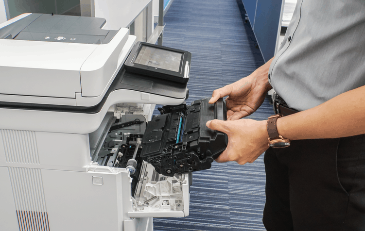 Troubleshooting laser printer streaks, smudges, and smears
