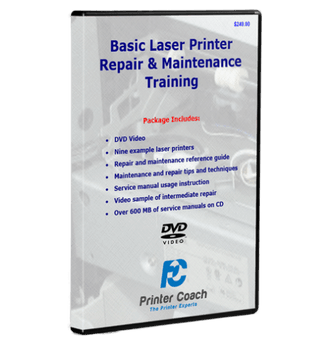 Printer Coach Printer Repair Video Training